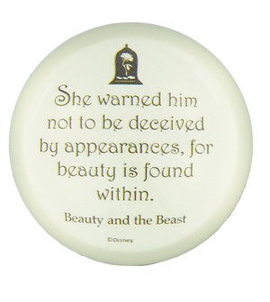 Disney Parks Beauty & the Beast Paperweight New
