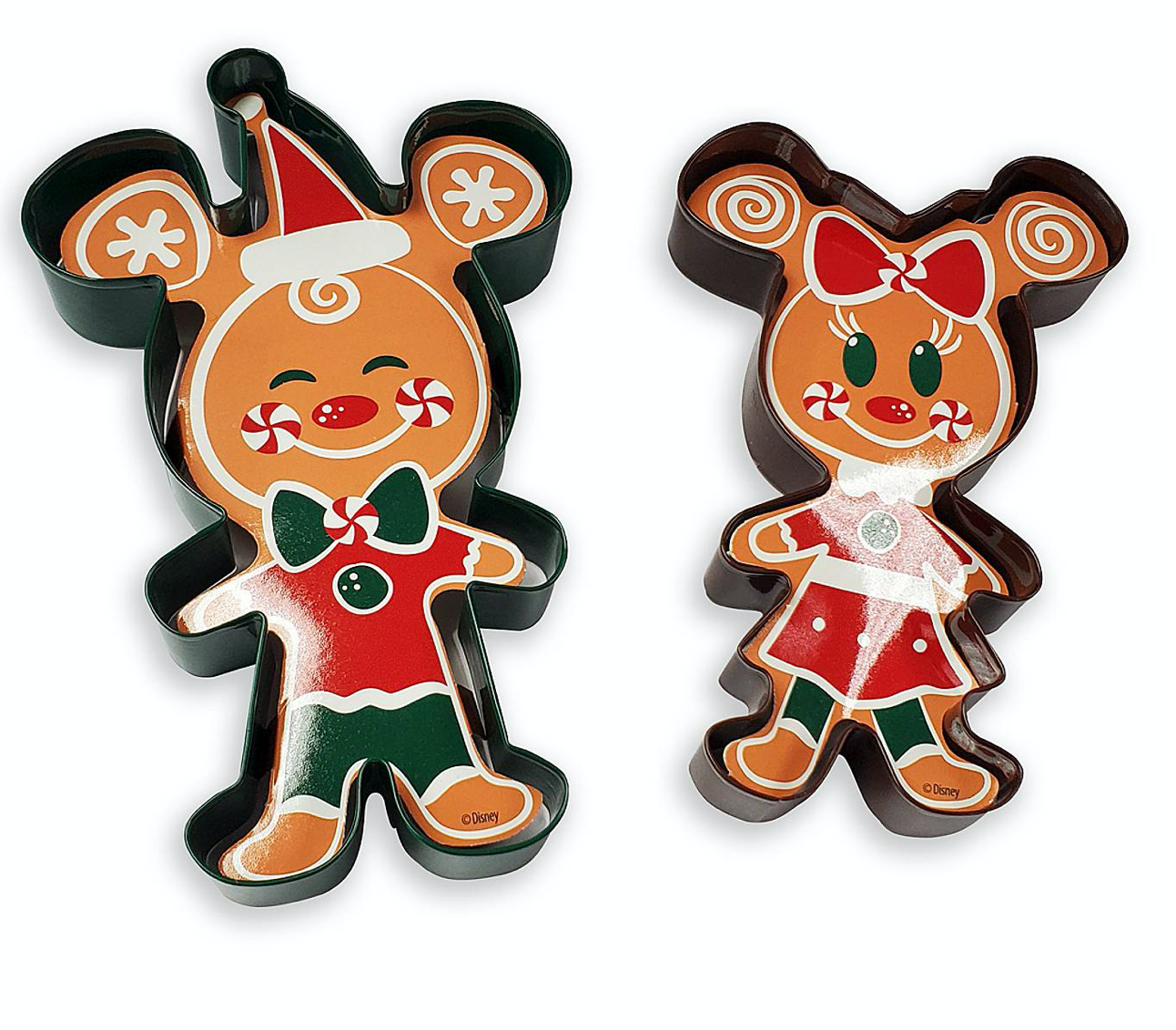 Disney Mickey Friends Gingerbread Christmas Holiday Baking Set New For 2020!