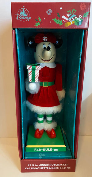Disney Parks Minnie Holiday Christmas Nutcracker Fab-Yule-Us New with Box