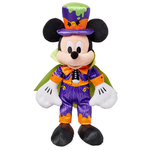 Disney Halloween Mickey Dracula 17inc Plush New with Tags