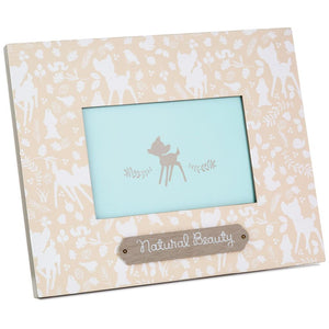 Hallmark Disney Bambi Natural Beauty Picture Photo Frame 4x6 New