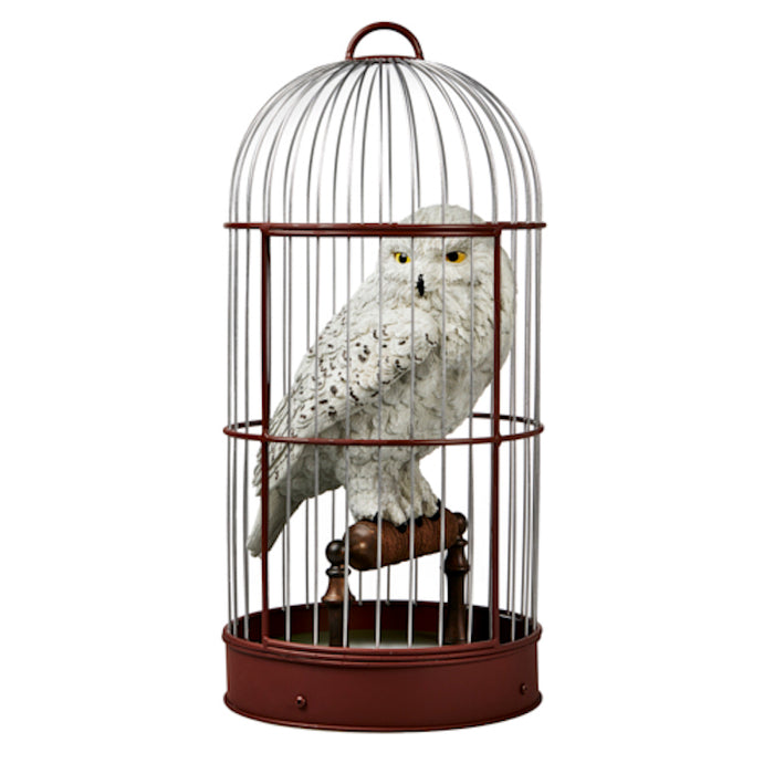 Universal Studios The Wizarding World of Harry Potter Hedwig in Cage Statue New