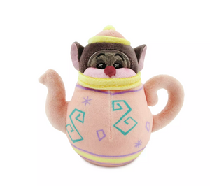 Disney Parks Dormouse Alice in Wonderland Wishables Plush New with Tag