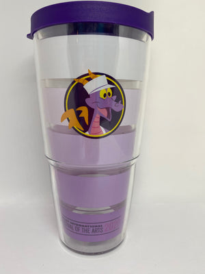 Disney Parks 2020 Epcot Festival of the Arts Figment Tervis Tumbler New