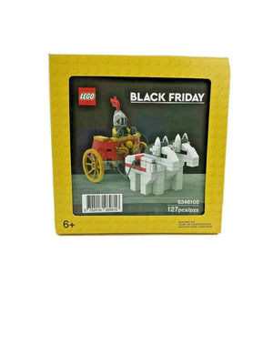 Lego 6346105 Promotional Black Friday Roman Chariot New with Sealed Box