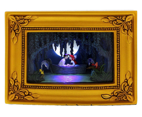 disney parks gallery of light olszewski the little mermaid ariel & eric new with box
