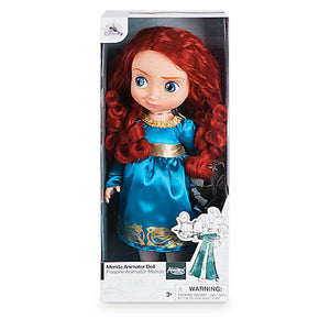 Disney Store Animator Doll Merida with Baby Angus New with Box