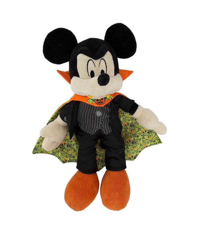 Disney Halloween Mickey Mouse Vampire 11 inc Plush New with Tags