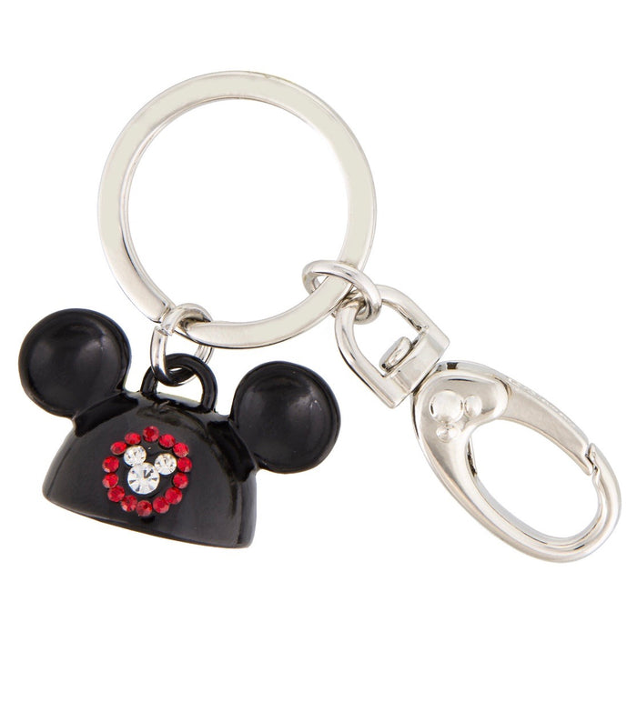 Disney Parks Mickey Mouse Eat Hat Keychain New with Tags