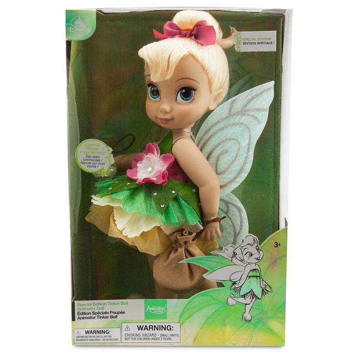 Disney Store Animators' Collection Tinker Bell Doll Special Edition New