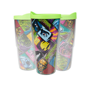 Universal Studios Monsters Tervis Tumbler 24 oz New