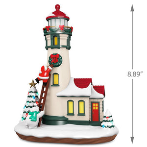Hallmark Luminous Lighthouse Musical Table Decoration with Light New with Box