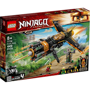 Lego 71736 NINJAGO Legacy Boulder Blaster Airplane New with Sealed Box