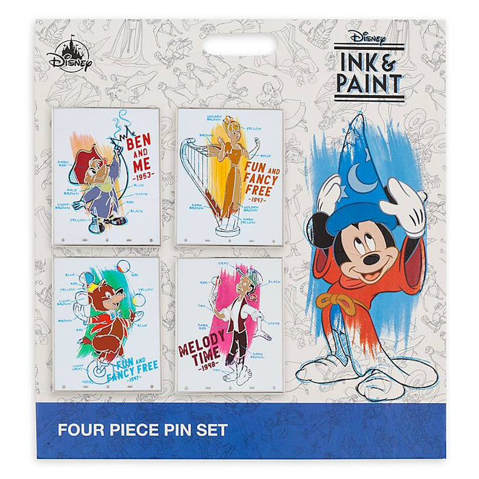 Disney Parks Ink & Paint Ben and Me Fun & Fancy Melody Time Pin New