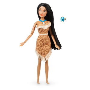 Disney Princess Pocahontas Classic Doll with Ring New with Box
