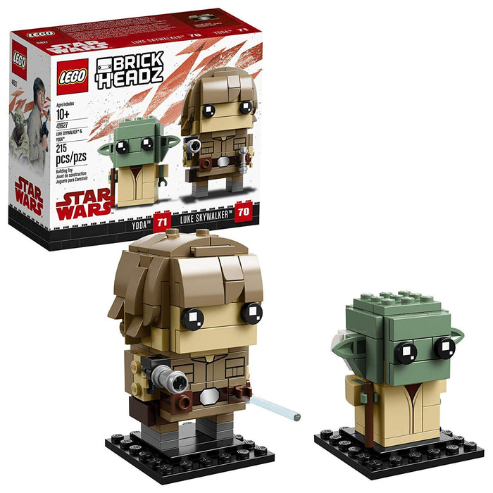Lego 41627 BrickHeadz Star Wars Yoda and Luke Skywalker New with Box