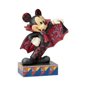 Disney Jim Shore Traditions Halloween Vampire Mickey Mouse Figurine New with Box