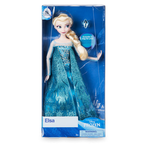 Disney Princess Frozen Elsa Classic Doll with Ring New with Box