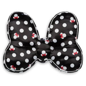 Disney Parks Minnie Mouse Bow Throw Pillow New