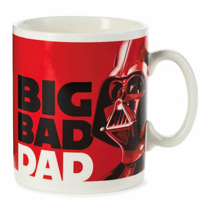 Hallmark Star Wars Darth Vader Big Bad Dad Jumbo White Mug 60 oz New