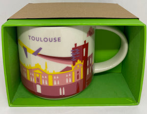 Starbucks You Are Here Collection Toulouse France Coffee Mug New With Box