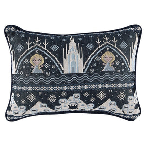 Disney Parks Frozen Woven Pillow New with Tags