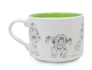 Disney Toy Story Buzz Animation Sketch Ceramic Coffee Mug New