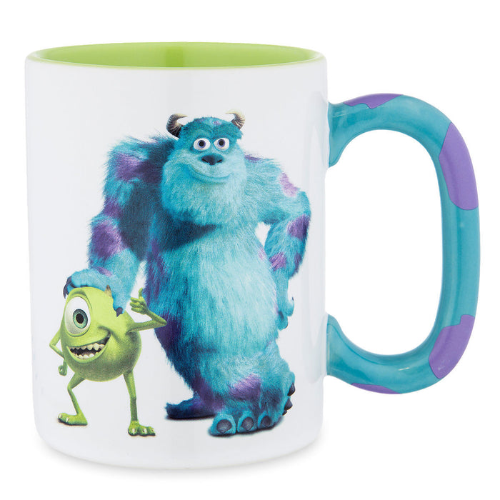 Disney Parks Monsters Inc Sulley Mike Stripes Mug Coffee Tea Cup New