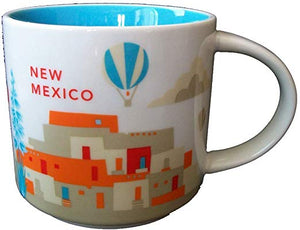 Starbucks You Are Here New Mexico Ceramic Coffee Mug New with Box