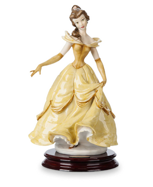 Disney Parks Belle Figure by Giuseppe Armani and Arribas Brothers New with Box