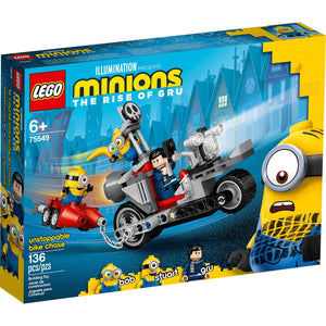 Lego 75549 Minions Unstoppable Bike Chase Building Kit 136pc