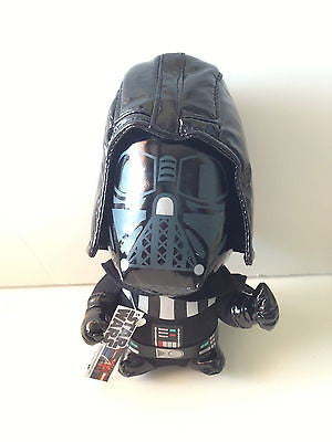 "DISNEY PARKS STAR WARS DARTH VADER 7"" H PLUSH NEW WITH TAG"