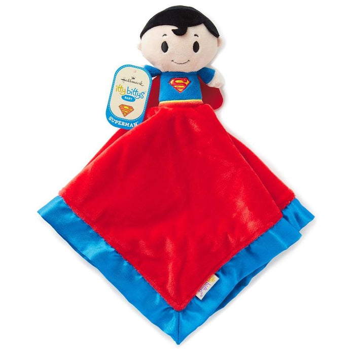 Hallmark Itty Bittys Superman Baby Lovey Plush New with Tags