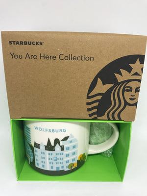 Starbucks You Are Here Collection Wolfsburg Germany Ceramic Coffee Mug New Box