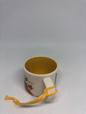 Starbucks Coffee You Are Here Japan Fall Espresso Mug Ornament New with Box