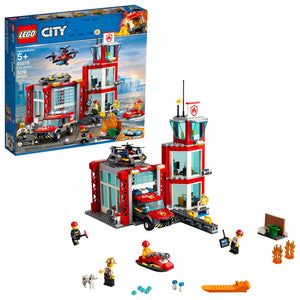 Lego 60215 City Fire Station Fire Emergency Vehicle Set New with Sealed Box
