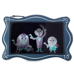 Disney Parks Hitchhiking Ghosts Haunted Mansion Pouch New with Tags