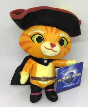 Universal Studios Shrek Puss in Boots Mini Bean Plush Toy New With Tags