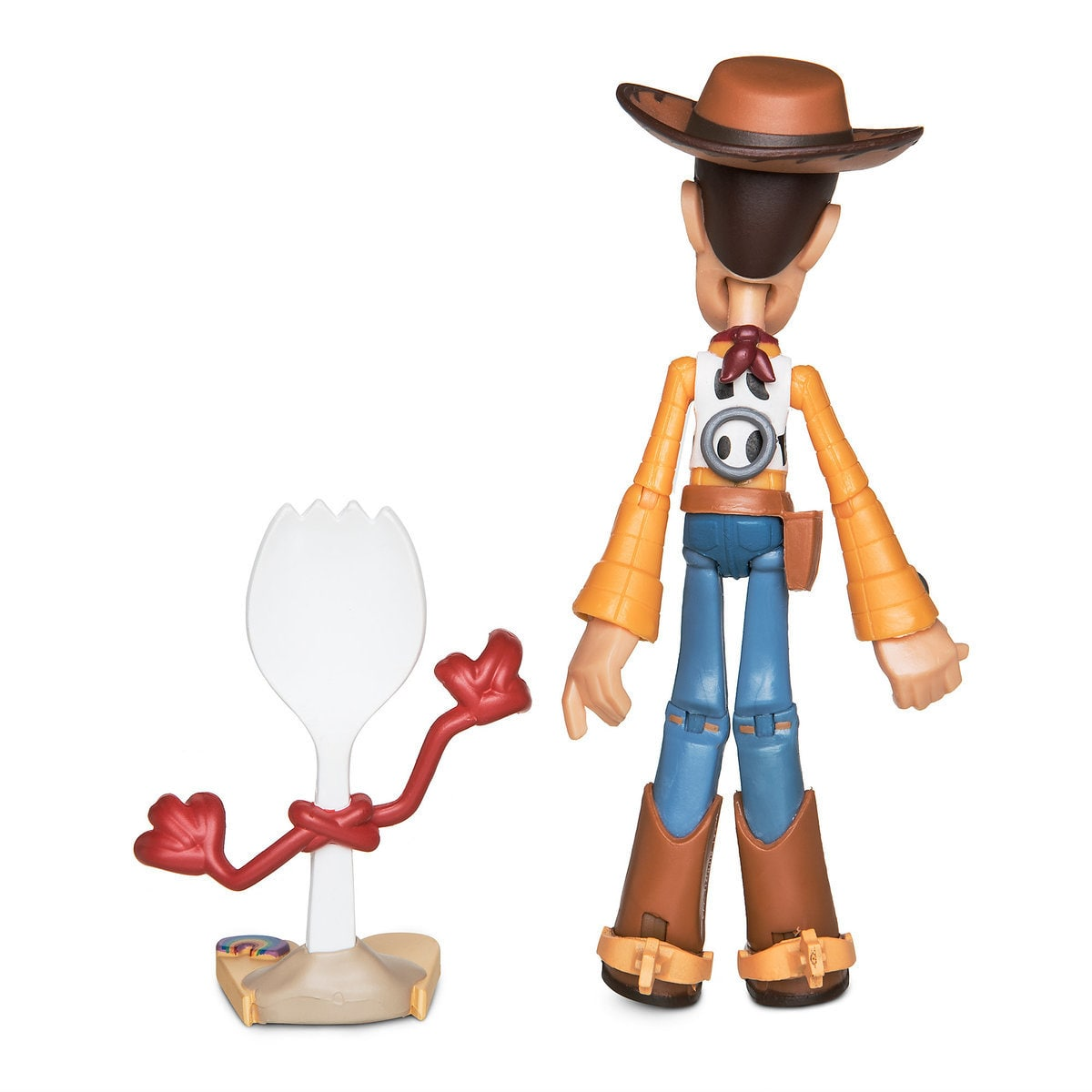 Disney Toy Story 4 Woody and Forky Action Figure Toybox New with Box