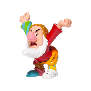 Disney Britto Seven Dwarfs Grumpy Mini Figurine New with Box