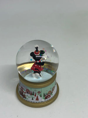 Disney Store Minnie Mouse Holiday Mini Snow Globe Mystery 2019 New with Box