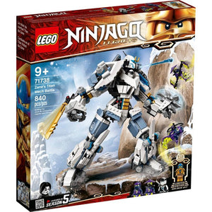 Lego 71738 NINJAGO Legacy Zane's Titan Mech Battle Building Toy New with Sealed Box