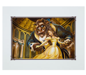 Disney Parks Ballroom Beauty & the Beast Deluxe Print by Wilson New