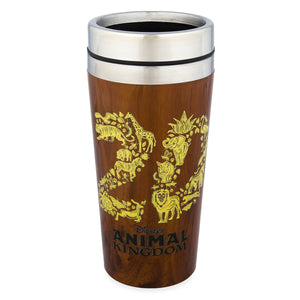 Disney Parks Animal Kingdom 20th Conservation Fund Travel Tumbler New