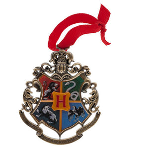 Universal Studios Harry Potter Crests Metal Holiday Ornament New with Tags