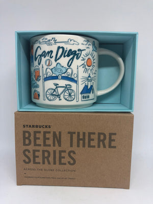 Starbucks Been There San Diego California America's Finest City Mug New with Box