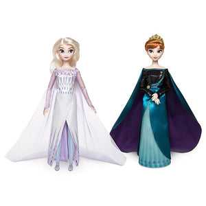 Disney Queen Anna and Snow Queen Elsa Classic Doll Set Frozen 2 New with Box