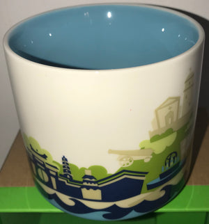 Starbucks You Are Here Collection China Macau Ceramic Coffee Mug New With Box