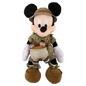 "disney parks animal kingdom 12"" mickey safari plush new with tag"
