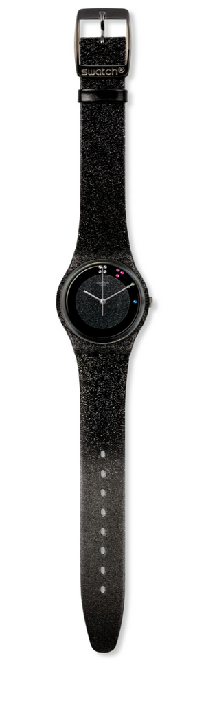 Swatch Christmas Holiday 2019 Scintillante Glitter Watch Limited New with Box